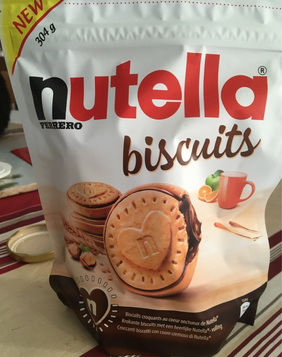 Nutella biscuits - Product - en