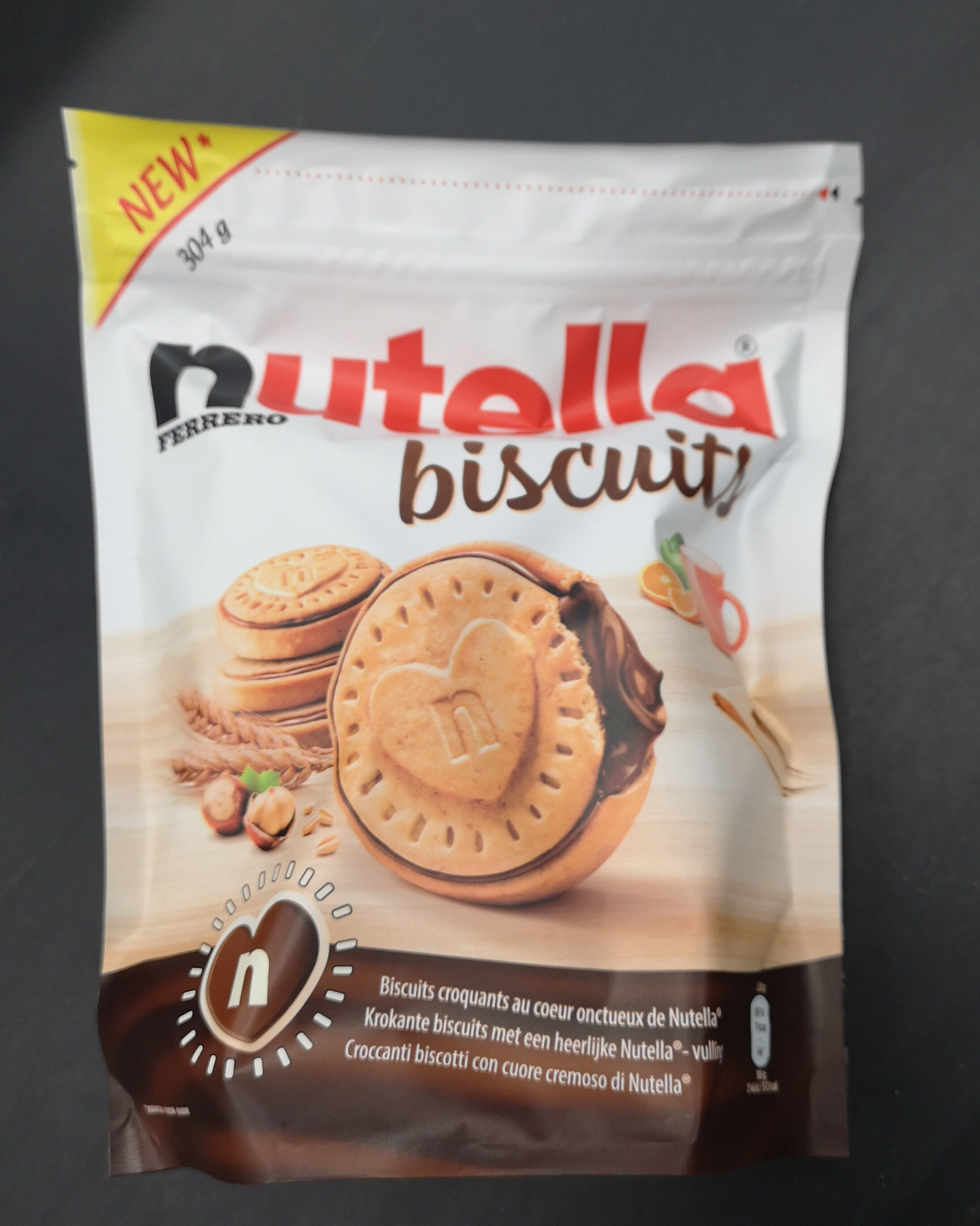 Nutella biscuits - Producte - fr