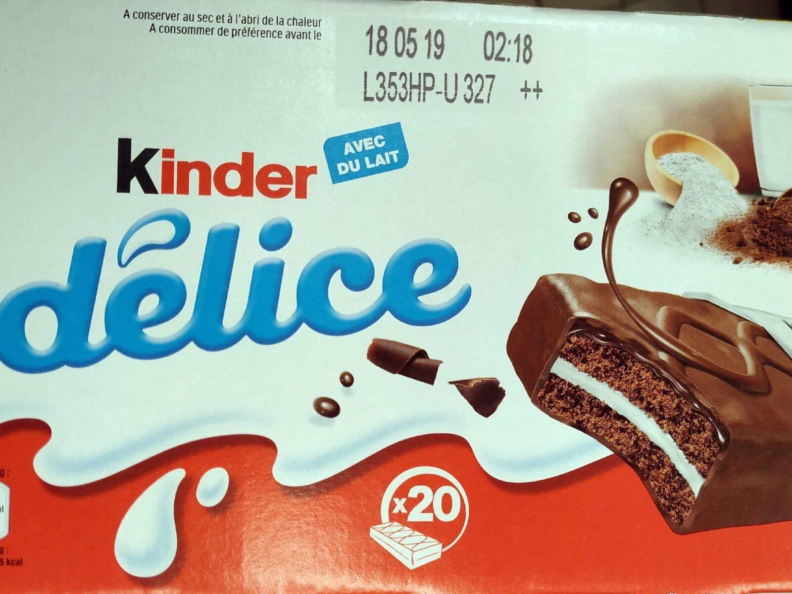Kinder Delice Cacao - Produkt - fr