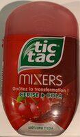 Tic Tac Mixers Cerise Cola Box - Product - fr