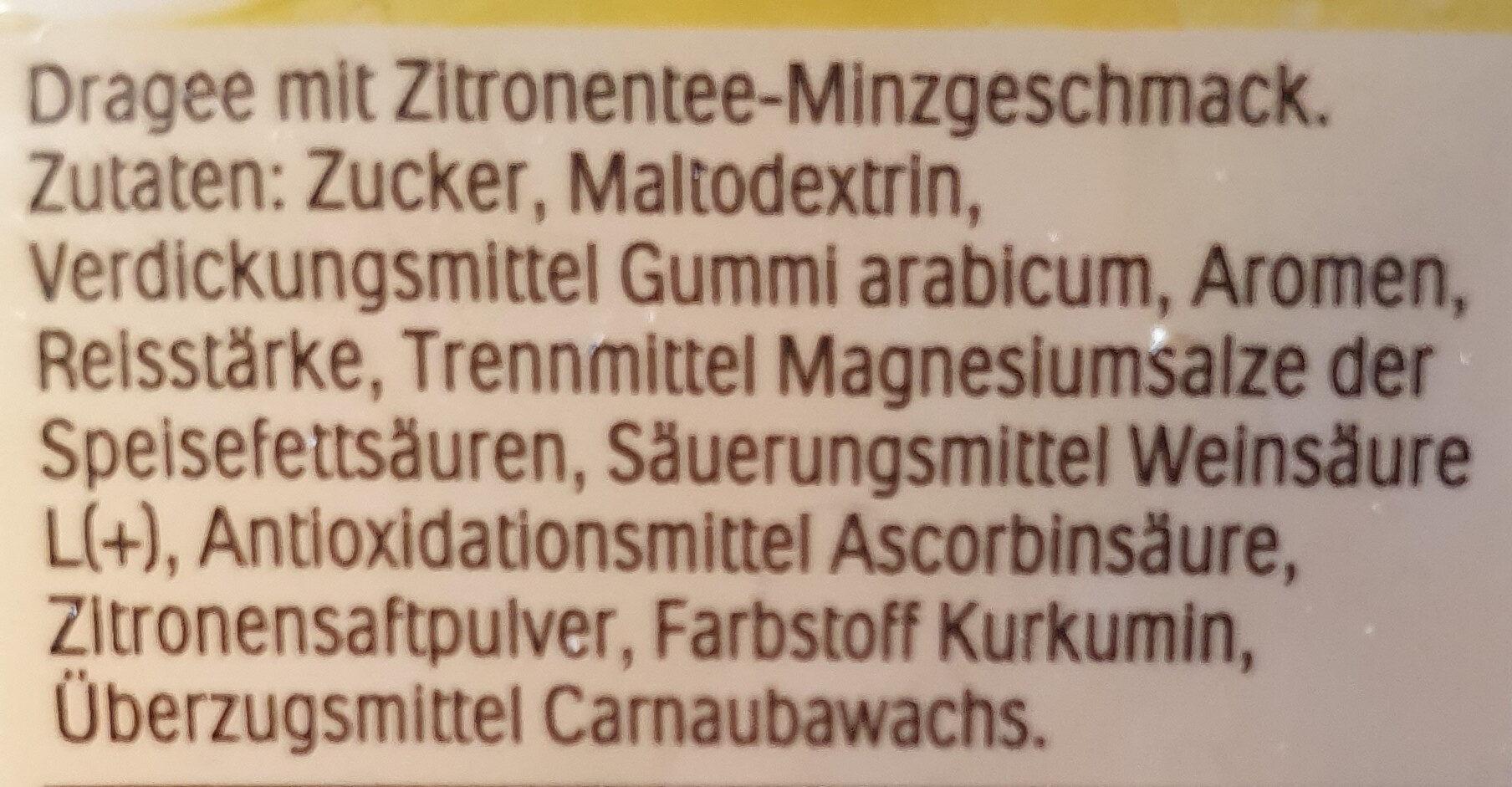 Mixers - Zitrone wird zu Minztee - Zutaten - de