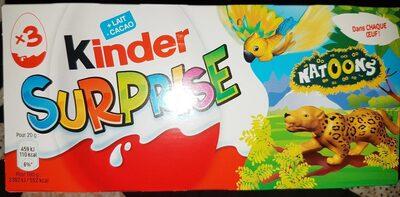 Kinder surprise - Product - fr