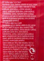 Tic Tac - Cocacola - Nährwertangaben - de