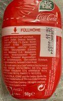 Tic tac coca cola - Voedingswaarden - fr
