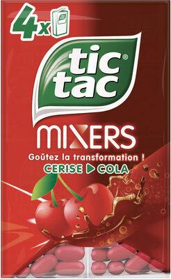 Tic tac cerise cola t4 t(33x4) pack de 4 etuis - Produit - fr