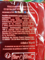Tic Tac cerise-cola - Ingredients - fr