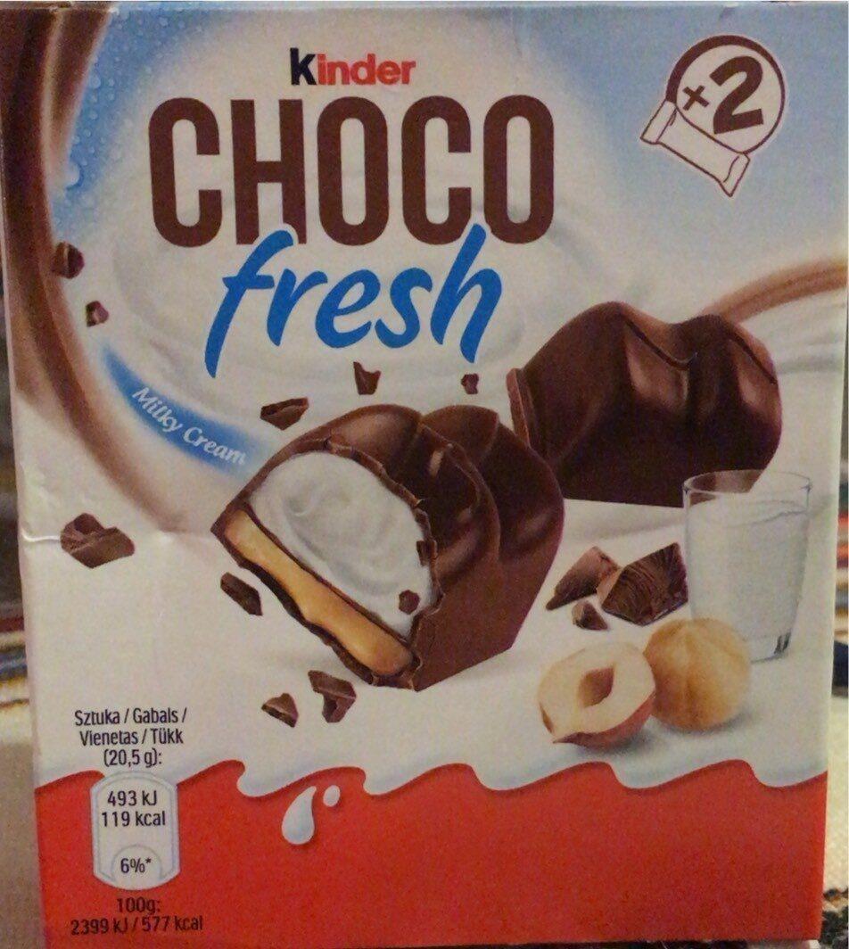 CHOCO fresh - Produktas - fr