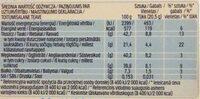 CHOCO fresh - Nutrition facts - fr