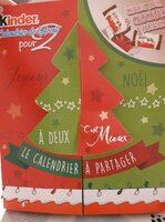 Kinder calendrier for two 308g pour deux - Voedingswaarden - fr