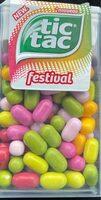 Tic tac Festival - Product - fr