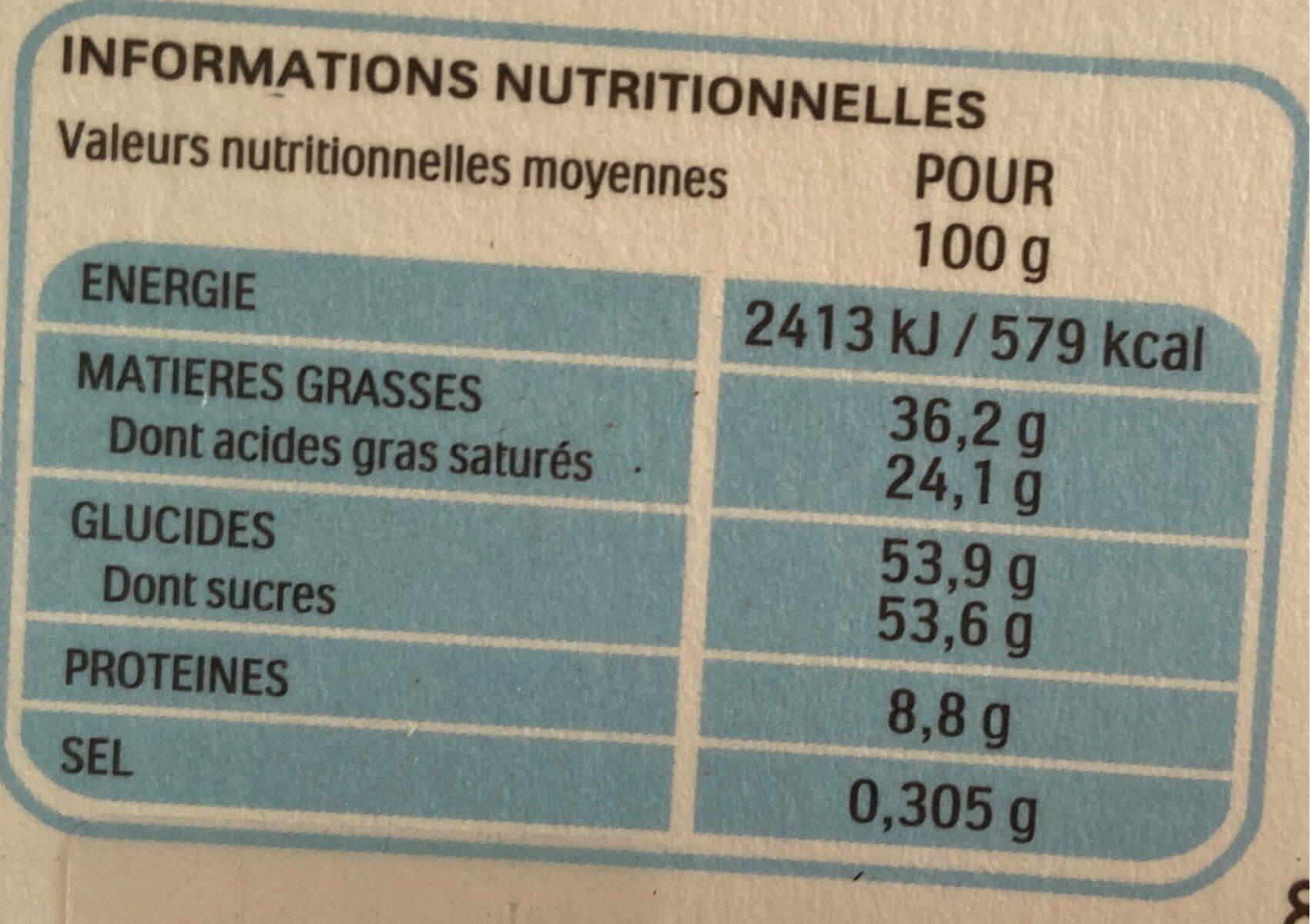 Kinder mix bunny house 155g maison lapin - Valori nutrizionali - fr