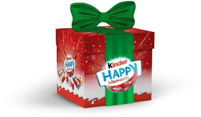 Kinder happy moments 400g boite cadeau - Produit - fr
