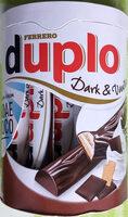 Duplo Dark & Vanilla - Produkt - de
