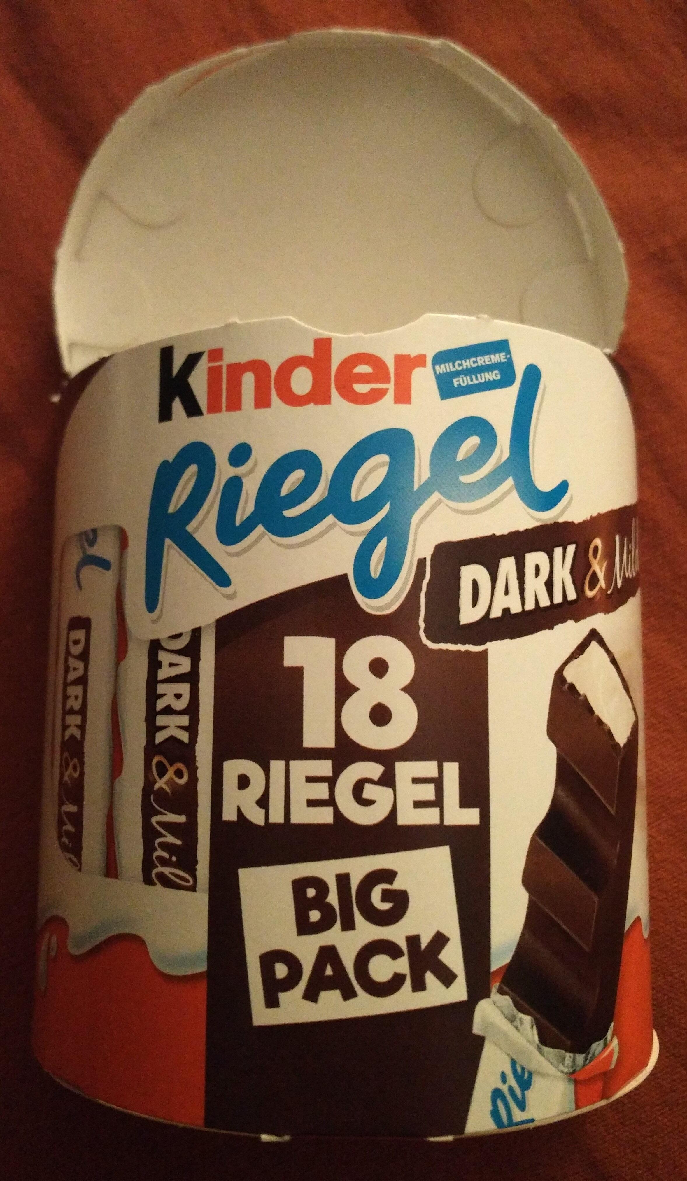 Kinder Riegel Dark & Mild (Big Pack) - Produkt - de