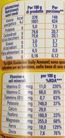 Nesquik - Valori nutrizionali - it