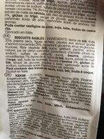 Con Frutta - Biscuits sablés - Ingrédients - fr