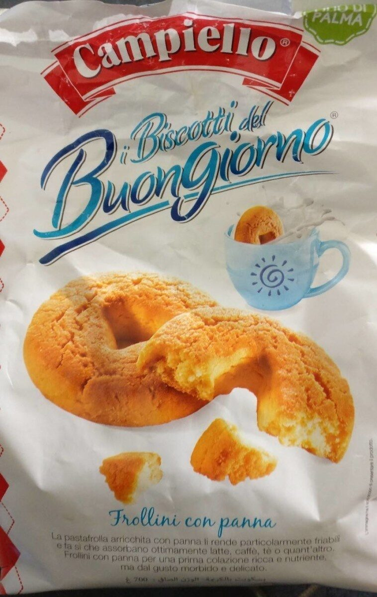 Biscotti del buongiorno - Produit - fr