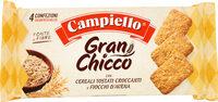 Gran chicco con cereali tostati croccanti e fiocchi d'avena - Produit - fr