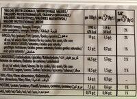 Gran chicco con cereali tostati croccanti e fiocchi d'avena - Informations nutritionnelles - fr