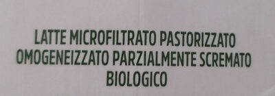 Latte parzialmente scremato - Ingredienti - it
