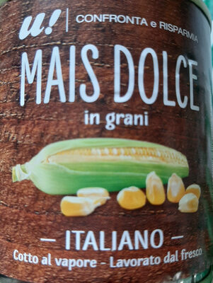 Mais dolce in grani - Produit - it