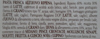 Ravioli alla borragine - Ingrédients - it