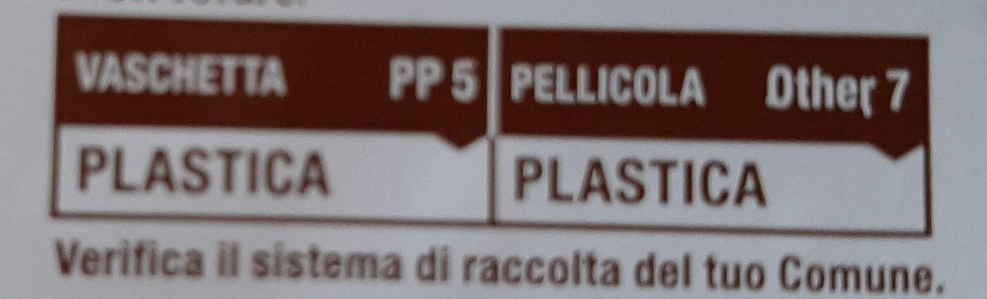 Ravioli alla borragine - Instruction de recyclage et/ou information d'emballage - it