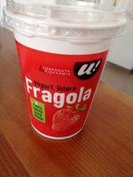 yogurt intero fragola - Produkt - it