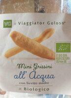Mini grissini all'acqua - Produit - it
