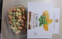 Chicche tricolori con patate, zucca e basilico - Produit - fr