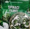 Spinaci filanti - Prodotto