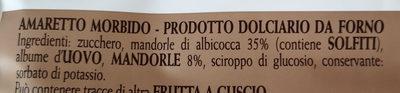 Amaretti di mombaruzzo - Ingrédients - it