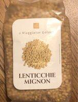 Lenticchie Mignon - Prodotto - fr