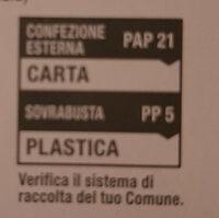 Infuso di zenzero, limone, malva, mela, liquirizia e citronella - Recycling instructions and/or packaging information - it