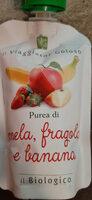 Purea di mela, fragola e banana - Prodotto - it