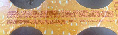 Crodino - Ingredients