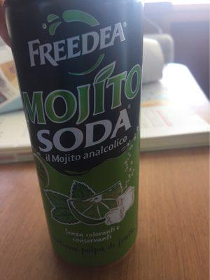 Mojito-soda - Nährwertangaben