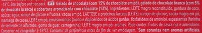 Viennetta Chocolate - Ingrédients - pt
