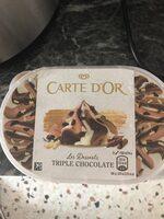 Helado de tres chocolates tarrina - Producto