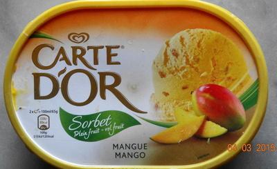 Sorbet, Plein fruit-Vol fruit, Mangue Mango - Prodotto - fr