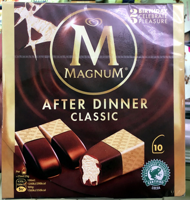 Magnum Barre Glacée After Dinner x10 - Produit - fr