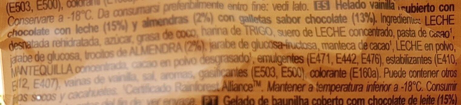 Magnum Sandwich - Ingredients - es