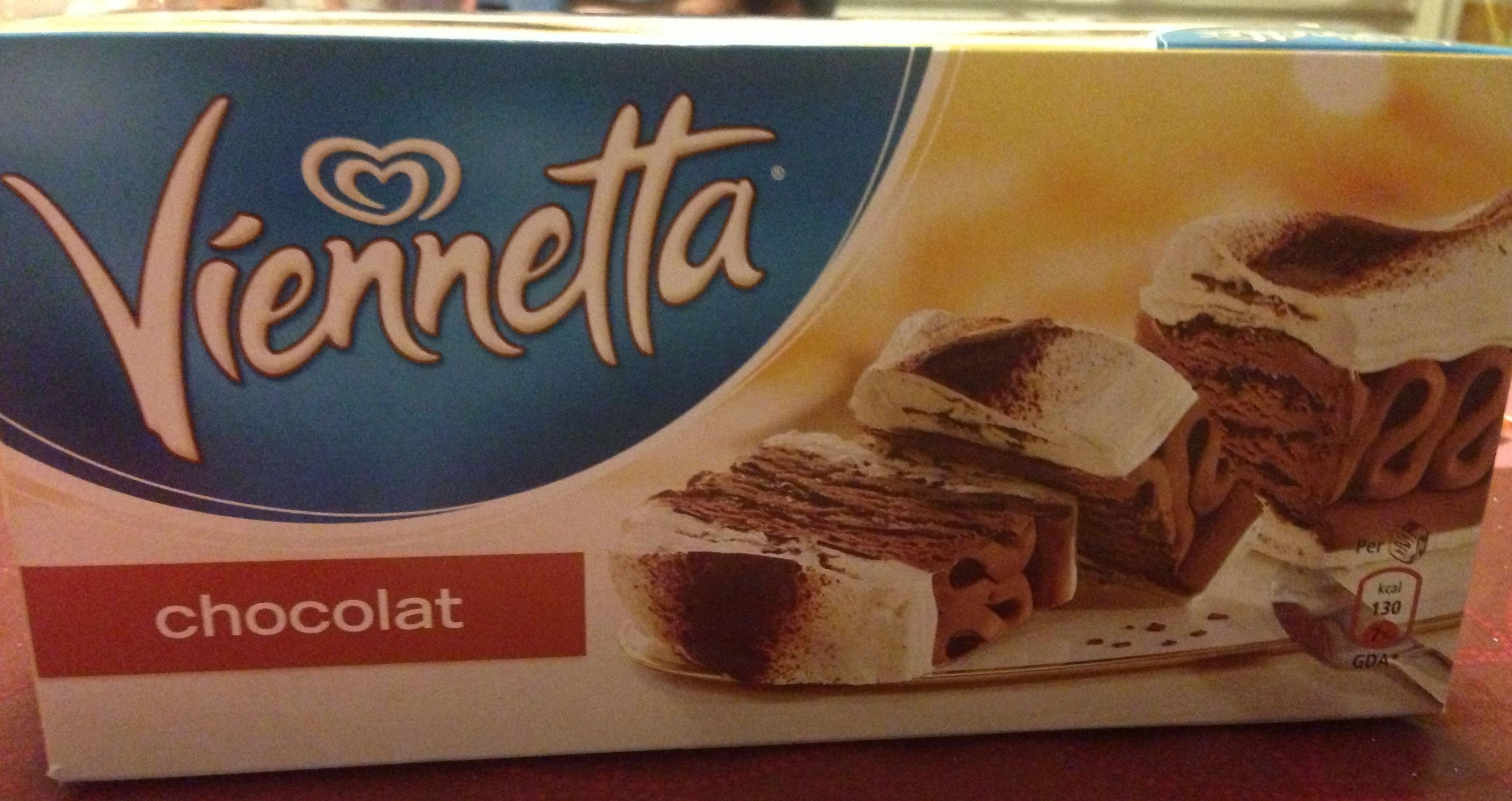 Viennetta chocolat - Produit