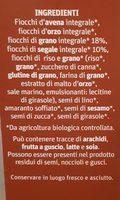 Muesli Naturale - Ingredients - it