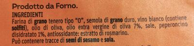 Taralli pugliesi - Ingrediënten - it