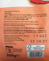 Taralli pugliesi - Voedingswaarden - it