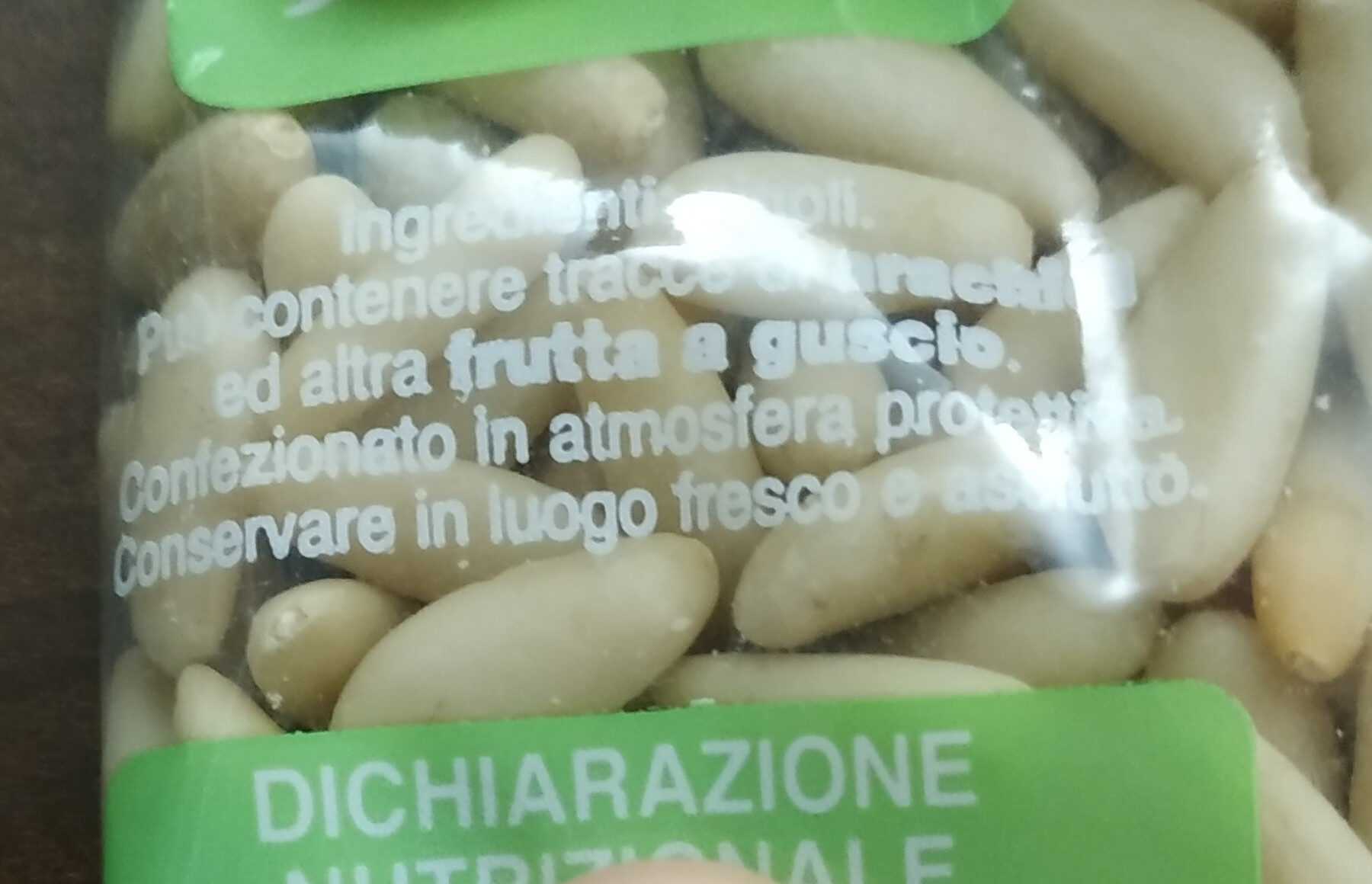 Pinoli - Ingredients - it