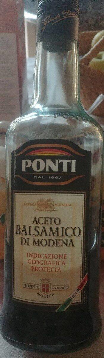 Aceto balsamico di modena - Producto