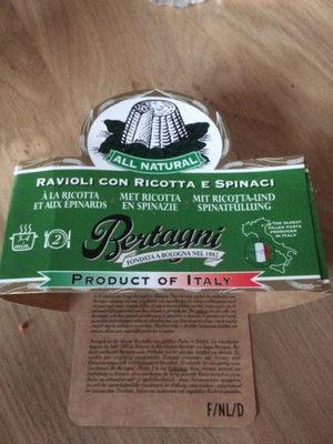 Ravioli Ricotta épinards 250g - Prodotto - fr