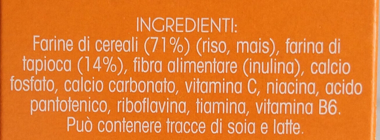 crema di cereali - Ingredients - it